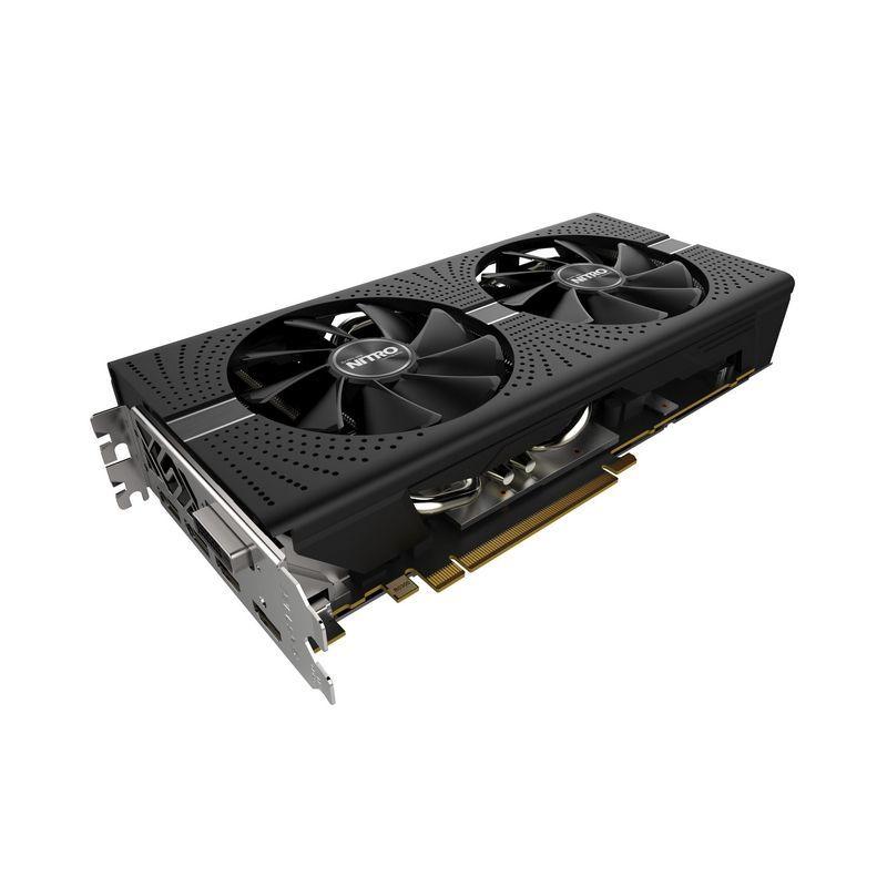 Видеокарта SAPPHIRE AMD  Radeon RX 580 ,  11265-00-40G NITRO+ RX 580 8G,  8Гб, GDDR5, Ret