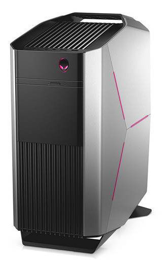 Компьютер  DELL Alienware Aurora R6,  Intel  Core i7  7700,  DDR4 16Гб, 1Тб,  256Гб(SSD),  2 х NVIDIA GeForce GTX 1070 - 8192 Мб,  DVD-RW,  Windows 10 Home,  черный [r6-0543]
