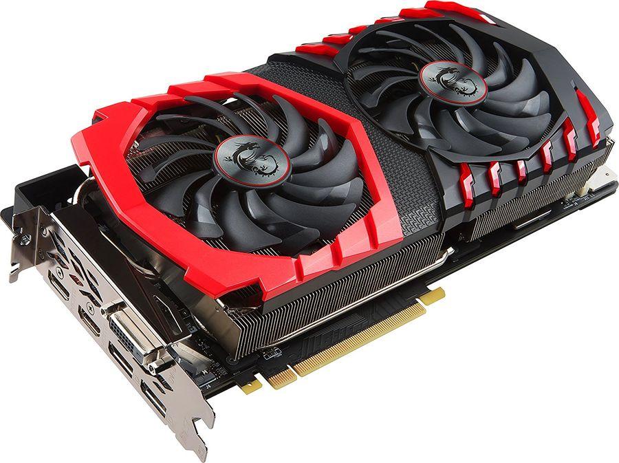 Видеокарта MSI nVidia  GeForce GTX 1080Ti ,  GeForce GTX 1080 Ti GAMING X 11G,  11Гб, GDDR5X, OC,  Ret