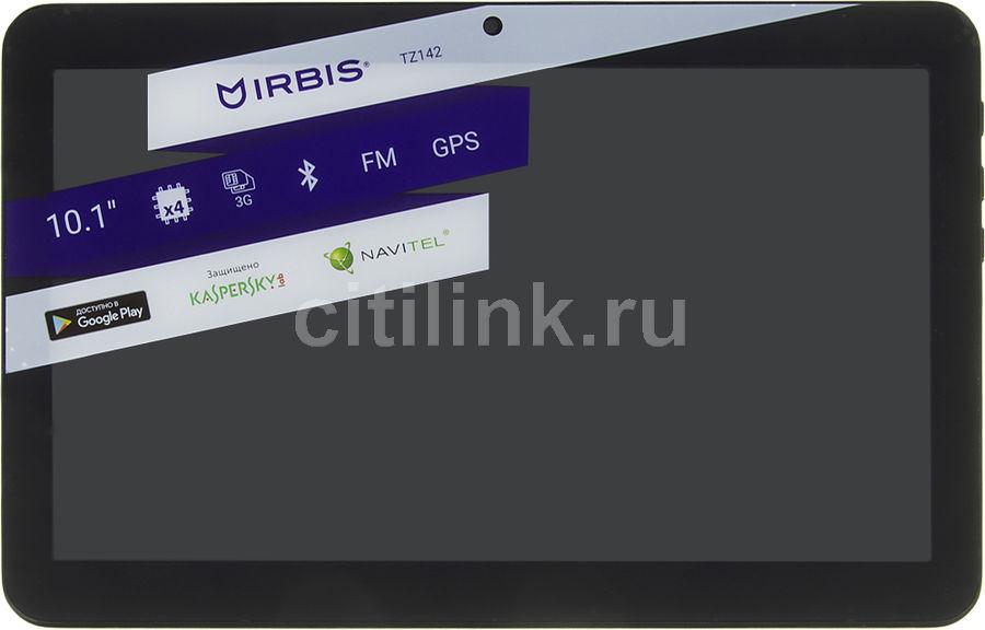 Планшет IRBIS TZ142,  1GB, 8GB, 3G,  Android 4.4 черный