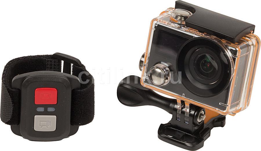 Экшн-камера X-TRY XTC220B UHD 4K,  черный [xtc220в cb]