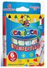 Фломастеры Carioca STAMPERELLO 42279 6цв. двусторонние со штампами коробка с европодвесом вид 2