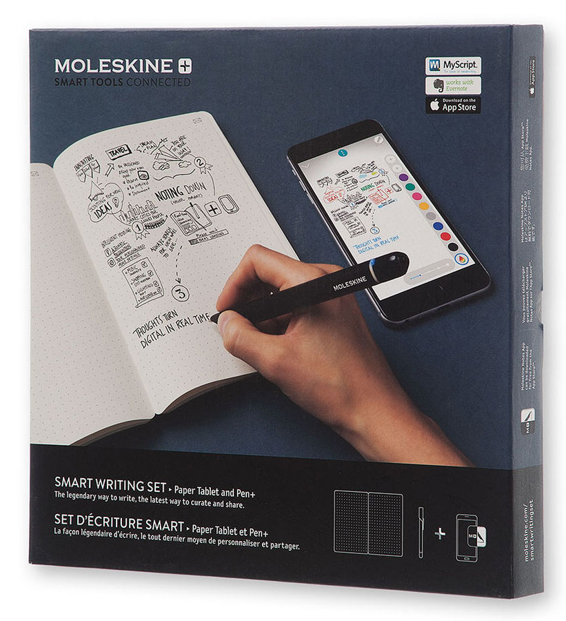 Набор Smart Writing Moleskine (блокнот Paper Tablet/ ручка SMART PEN+) [ptseta]