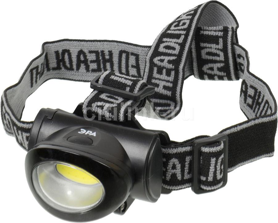Налобный фонарь ЭРА GB-601, черный ,  5Вт [б0027818]