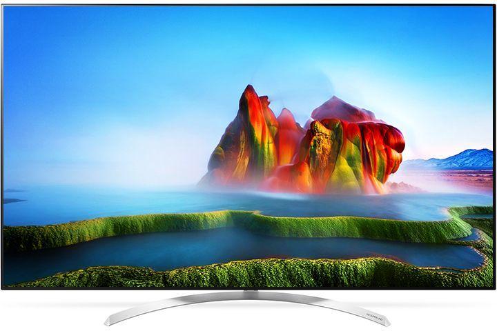 "LED телевизор LG 55SJ930V  ""R"", 55"", Ultra HD 4K (2160p),  черный"