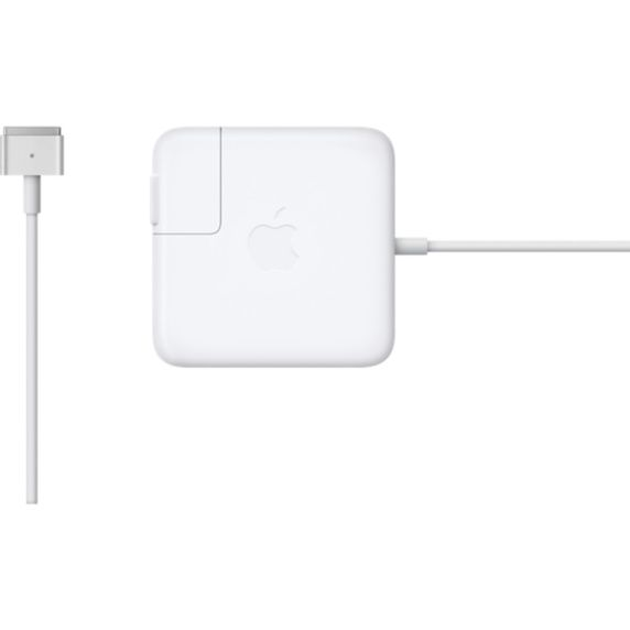 Адаптер питания APPLE MagSafe 2, 85Вт, белый аксессуар topon top ap204 18 5v 85w for macbook air 2012 pro retina magsafe 2