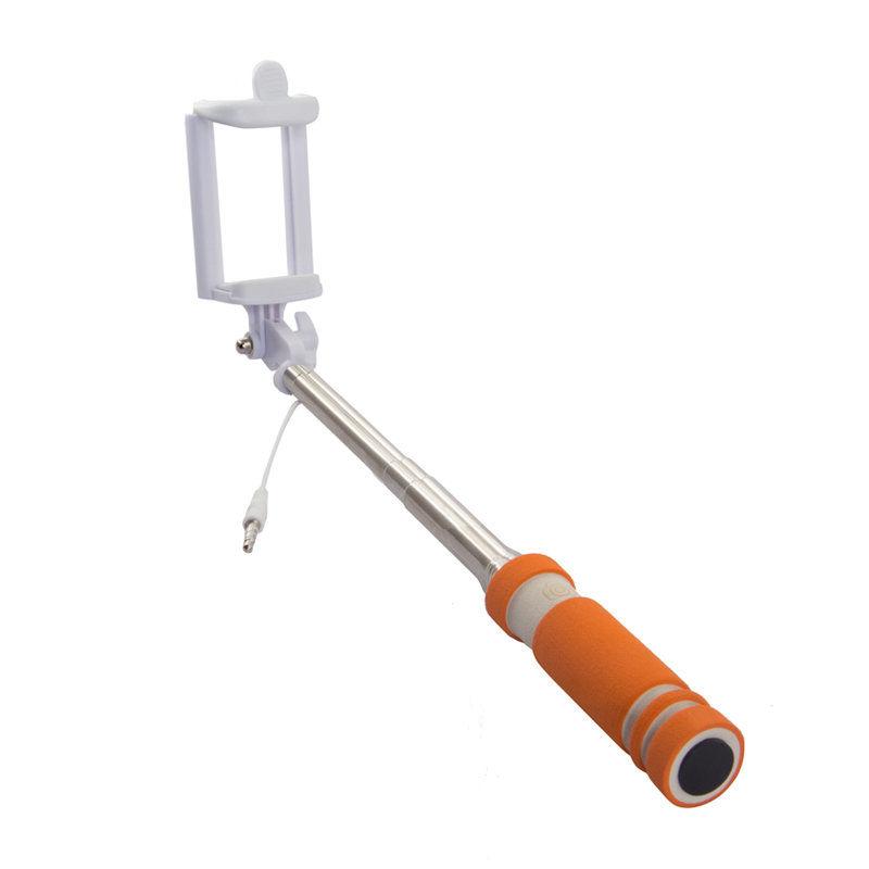 Cелфи-палка REKAM SelfiPod S-350R, оранжевый