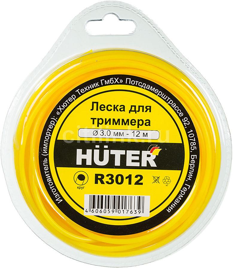 Леска для садовых триммеров HUTER R3012,  3мм, 12м [71/2/1]
