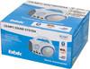 Аудиомагнитола BBK BX150BT,  белый и голубой вид 12