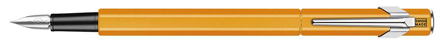 Ручка перьевая Carandache Office 849 Fluo (842.030) оранжевый флуоресцентный EF сталь нержавеющая по