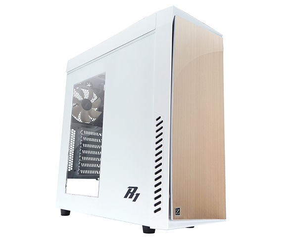 Корпус ATX ZALMAN R1, Midi-Tower, без БП, белый корпус atx zalman r1 без бп чёрный