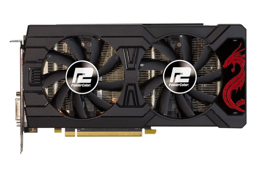 Видеокарта POWERCOLOR Radeon RX 570,  AXRX 570 4GBD5-3DHD/OC,  4Гб, GDDR5, OC,  Ret