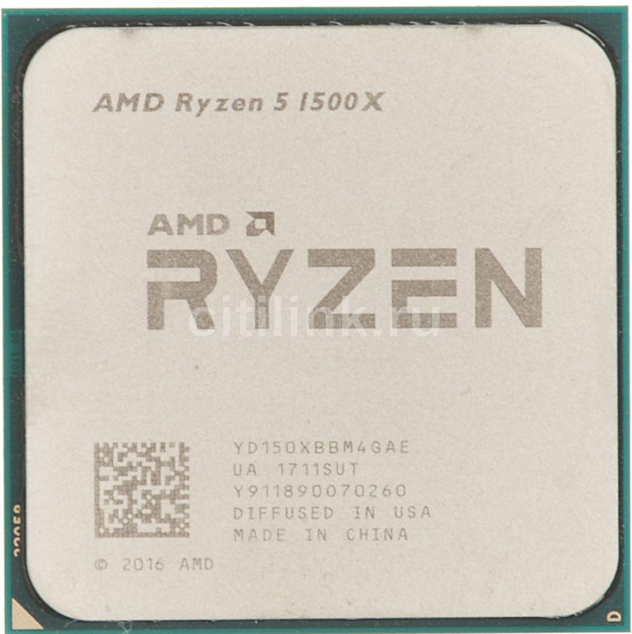 Процессор AMD Ryzen 5 1500X, SocketAM4 OEM [yd150xbbm4gae]