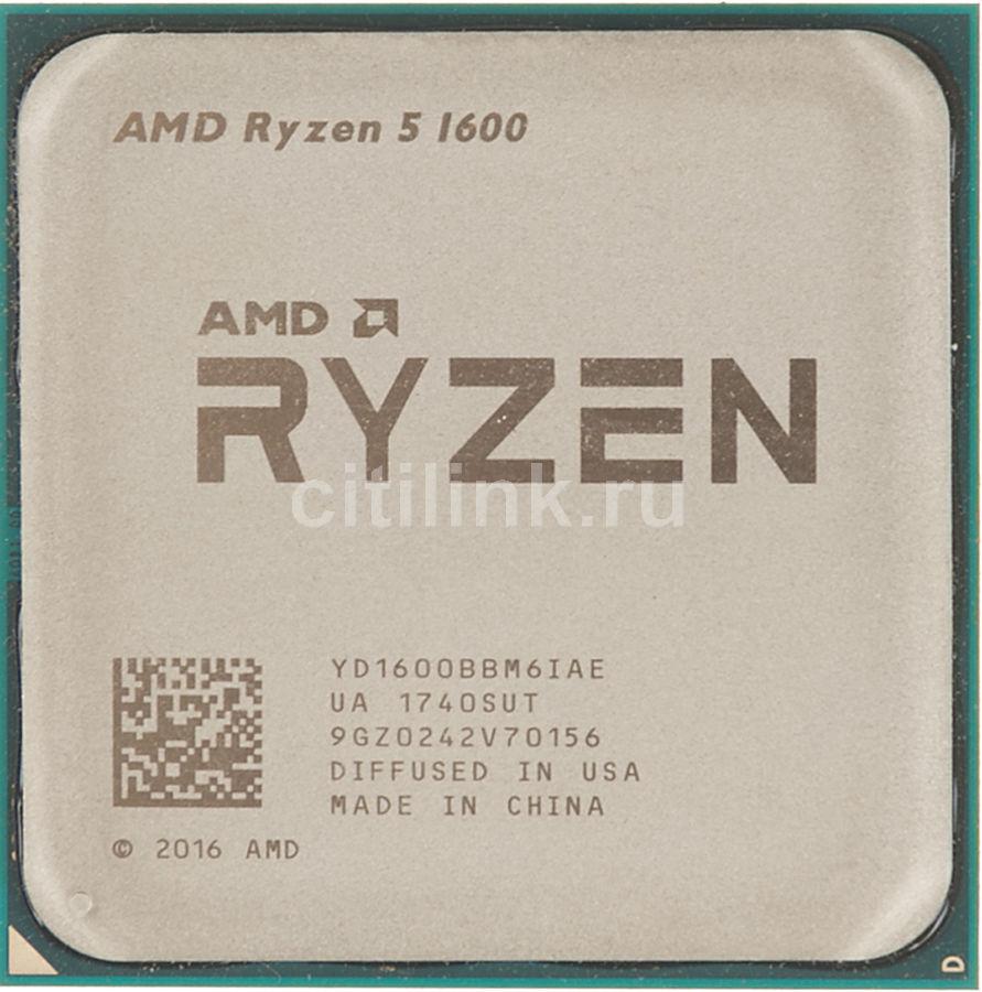 Процессор AMD Ryzen 5 1600, SocketAM4 OEM [yd1600bbm6iae]