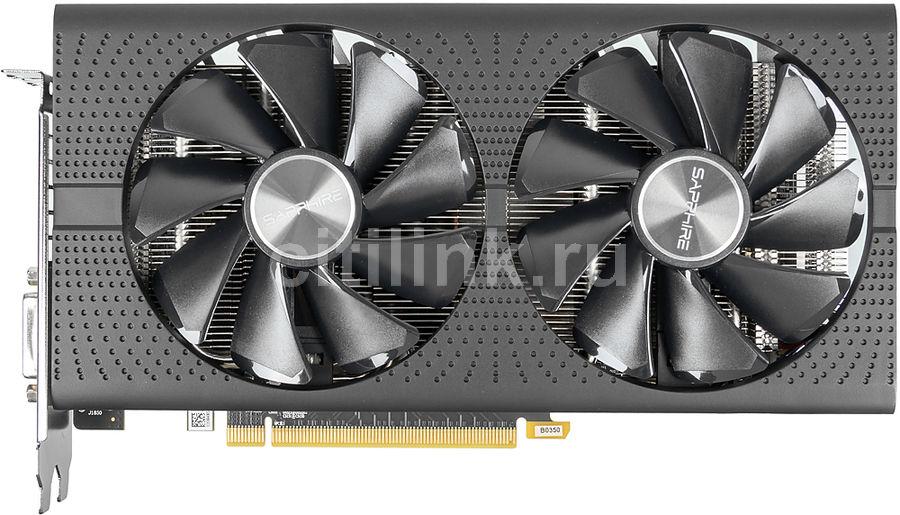 Видеокарта SAPPHIRE AMD  Radeon RX 580 ,  11265-05-20G PULSE RX 580 8G OC,  8Гб, GDDR5, OC,  Ret