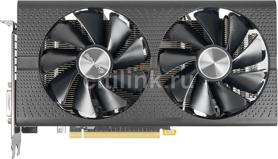 Видеокарта SAPPHIRE AMD  Radeon RX 580 ,  11265-09-20G PULSE RX 580 4G OC,  4Гб, GDDR5, OC,  Ret