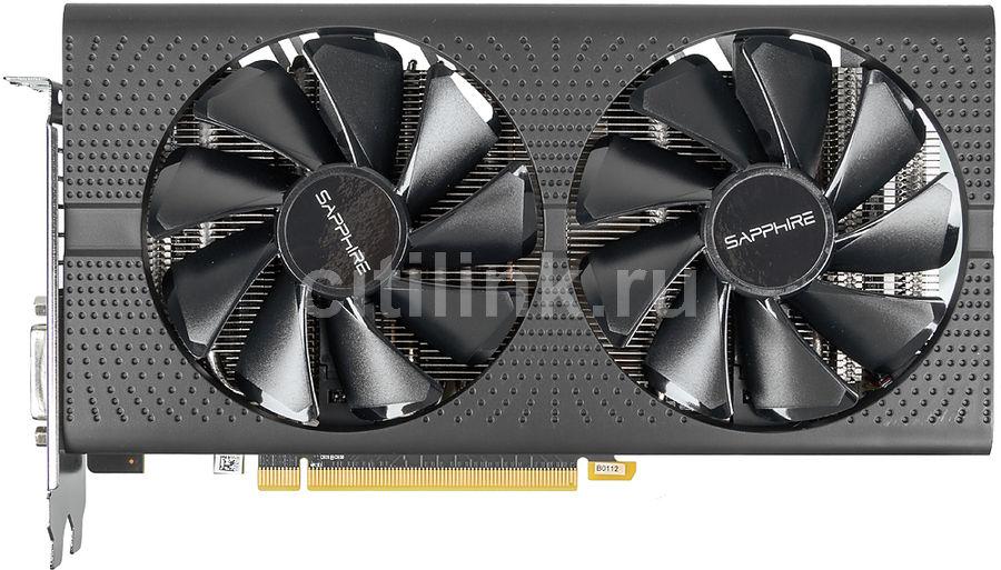 Видеокарта SAPPHIRE AMD  Radeon RX 570 ,  11266-04-20G PULSE RX 570 4G OC,  4Гб, GDDR5, OC,  Ret