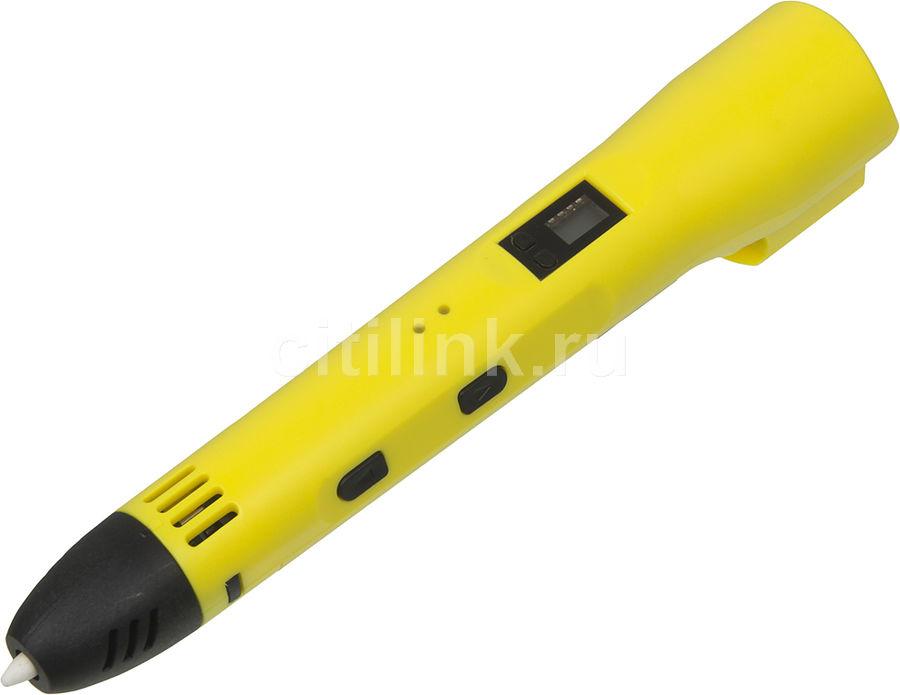 Ручка 3D Cactus CS-3D-LTP2-YL PLA LCD желтый