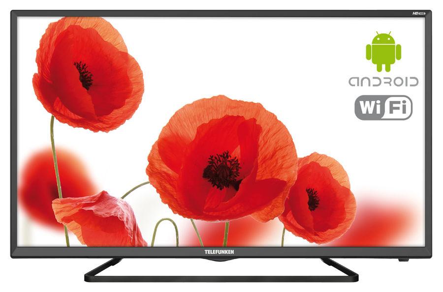 """LED телевизор TELEFUNKEN TF-LED32S52T2S  """"R"""", 31.5"""", HD READY (720p),  черный"""