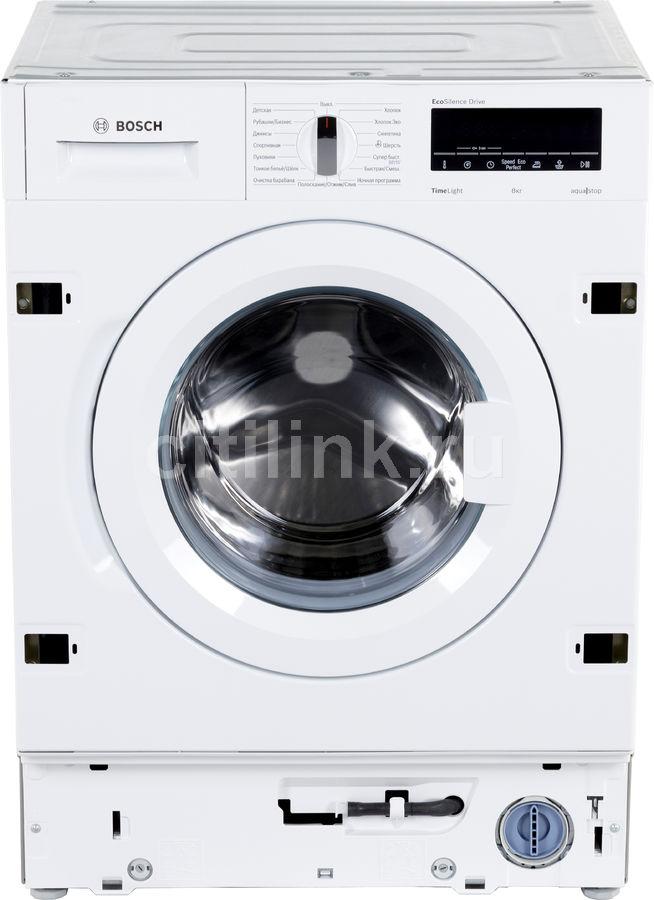 Стиральная машина BOSCH WIW28540OE белый