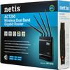 Беспроводной роутер NETIS WF2880,  черный вид 12