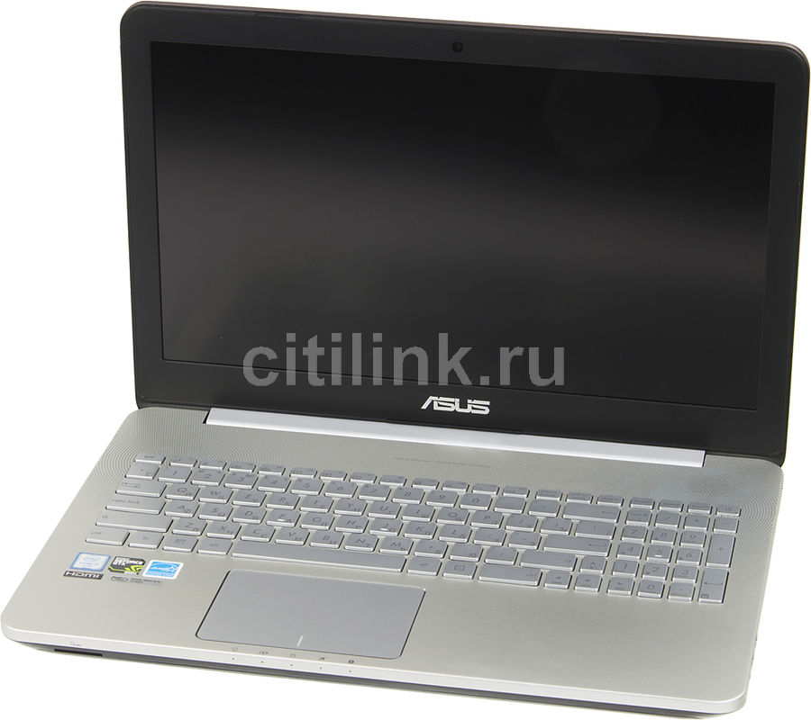 Ноутбук ASUS N552VX-FW354T, 15.6, Intel Core i5 6300HQ, 2.3ГГц, 8Гб, 1000Гб, 128Гб SSD, nVidia GeForce GTX 950M - 2048 Мб, DVD-RW, Windows 10, серый [90nb09p1-m04190]Ноутбуки<br>экран: 15.6;  разрешение экрана: 1920х1080; процессор: Intel Core i5 6300HQ; частота: 2.3 ГГц (3.2 ГГц, в режиме Turbo); память: 8192 Мб, DDR4; HDD: 1000 Гб, 5400 об/мин; SSD: 128 Гб; nVidia GeForce GTX 950M - 2048 Мб; DVD-RW; WiFi;  Bluetooth; HDMI; WEB-камера; Windows 10<br>