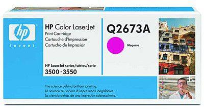 Картридж HP Q2673A пурпурный