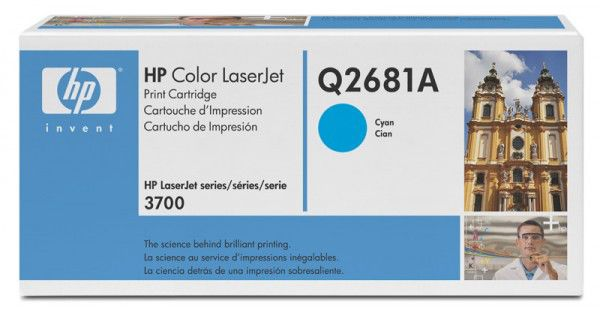 Картридж HP Q2681A голубой
