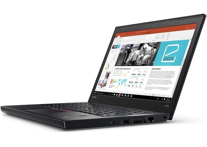 Ноутбук LENOVO ThinkPad X270, 12.5, Intel Core i3 7100U 2.4ГГц, 4Гб, 180Гб SSD, Intel HD Graphics 620, Windows 10 Professional, 20HN0065RT, черный ноутбук lenovo thinkpad l450 core i5 5200u 8gb ssd180gb intel hd graphics 5500 14 черный