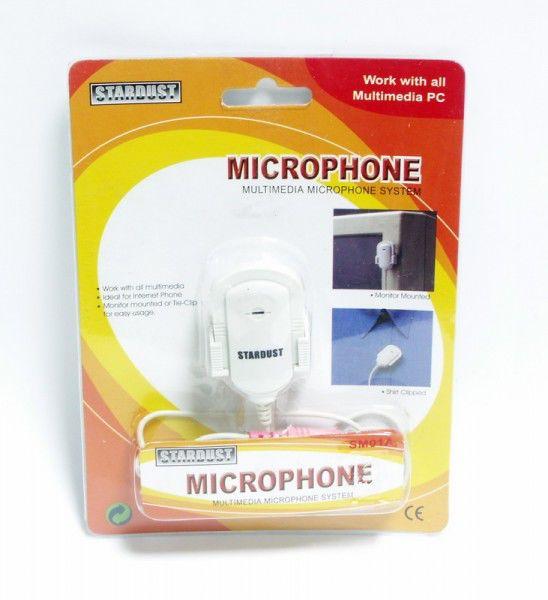 Микрофон  SM01A,  белый