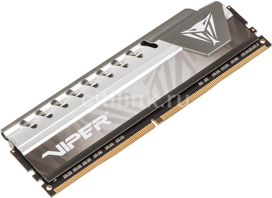 Модуль памяти PATRIOT Viper Elite PVE48G213C4GY DDR4 - 8Гб 2133, DIMM, Ret снегоуборщик patriot ps 710 е
