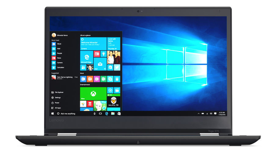 Ноутбук-трансформер LENOVO ThinkPad Yoga 370, 13.3, Intel Core i5 7200U 2.5ГГц, 8Гб, 256Гб SSD, Intel HD Graphics 620, Windows 10 Professional, 20JH002KRT, черный ноутбук lenovo thinkpad l450 core i5 5200u 8gb ssd180gb intel hd graphics 5500 14 черный