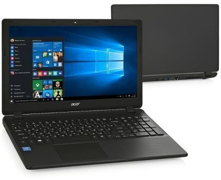 Ноутбук ACER Extensa EX2540-33GH, 15.6, Intel Core i3 6006U 2.0ГГц, 4Гб, 2Тб, Intel HD Graphics 520, DVD-RW, Linux, черный [nx.efher.007] ноутбук acer extensa ex2540 51wg nx efger 007
