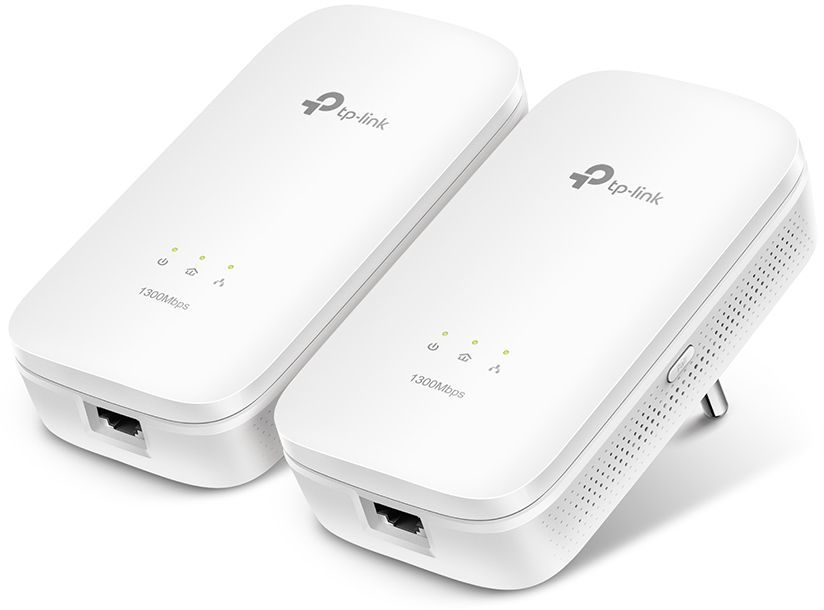Сетевой адаптер PowerLine TP-LINK TL-PA8010 KIT Ethernet tp link tl pa7020pkit av1000 ver 2 0 комплект адаптеров powerline со встроенной розеткой