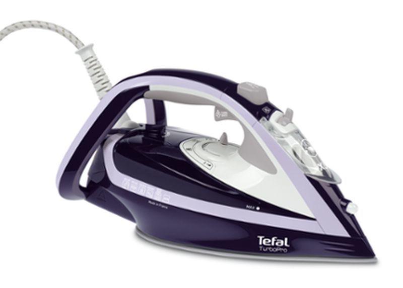 Утюг Tefal FV5615E0 2600Вт фиолетовый/белый(Б/У)