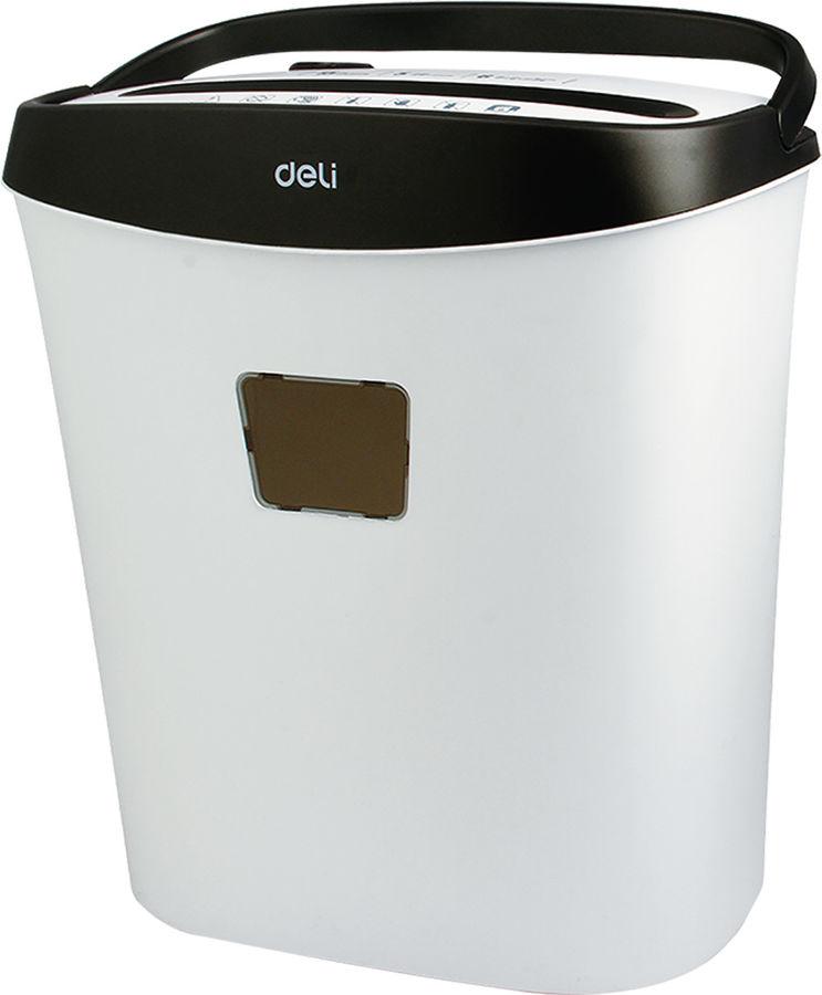 Уничтожитель бумаг DELI SMART E9928-EU,  уровень 3,  P-3,  5х40мм
