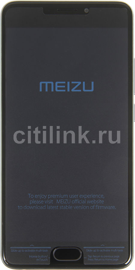 Смартфон MEIZU M5 Note 16Gb, M621H, серый смартфон meizu m5 note m621h 16gb серый