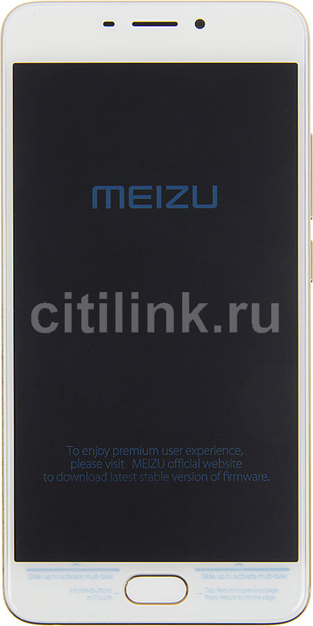 Смартфон MEIZU M5 Note 16Gb, M621H, золотистый смартфон meizu m5 note m621h 16gb серебристый