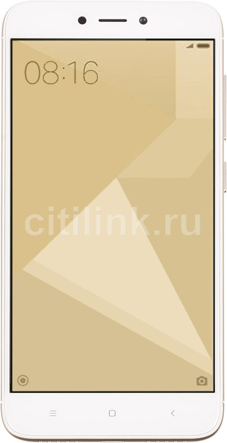 Смартфон XIAOMI Redmi 4X 16Gb, золотистый