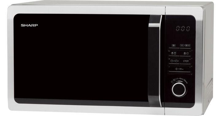 Микроволновая печь SHARP R-7852RSL, серебристый