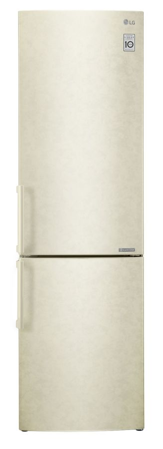 Холодильник LG GA-B499YECZ,  двухкамерный, бежевый