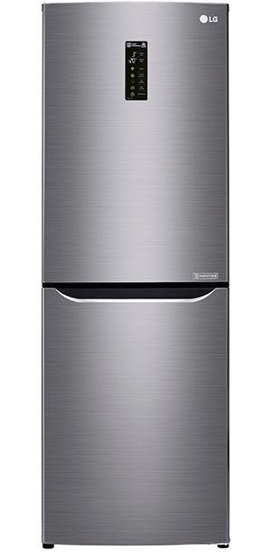Холодильник LG GA-B389SMQZ,  двухкамерный,  серый