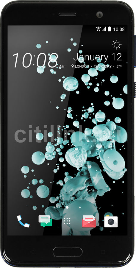 Смартфон HTC U Play 64Gb, синий смартфон htc 10 evo 64gb gunmetal