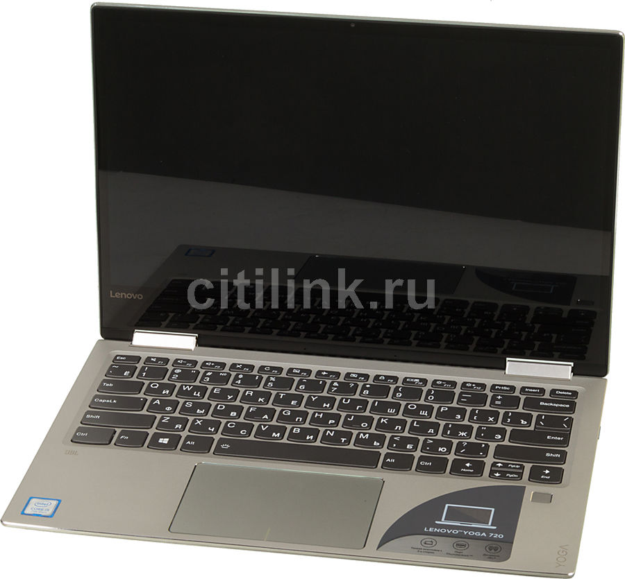 Ноутбук-трансформер LENOVO YOGA 720-13IKB, 13.3, Intel Core i5 7200U 2.5ГГц, 8Гб, 256Гб SSD, Intel HD Graphics 620, Windows 10, серебристый [80x6005ark]Ноутбуки<br>экран: 13.3; cенсорный экран; разрешение экрана: 1920х1080; тип матрицы: IPS; процессор: Intel Core i5 7200U; частота: 2.5 ГГц (3.1 ГГц, в режиме Turbo); память: 8192 Мб, DDR4, 2133 МГц; SSD: 256 Гб; Intel HD Graphics 620; WiFi;  Bluetooth;  WEB-камера; Windows 10<br>