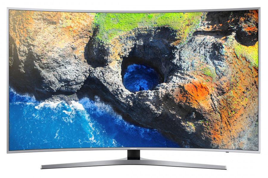 "LED телевизор SAMSUNG UE49MU6500UXRU  ""R"", 49"", Ultra HD 4K (2160p),  серебристый"