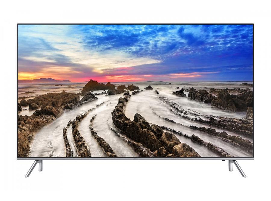 "LED телевизор SAMSUNG UE65MU7000UXRU  ""R"", 65"", Ultra HD 4K (2160p),  серебристый"