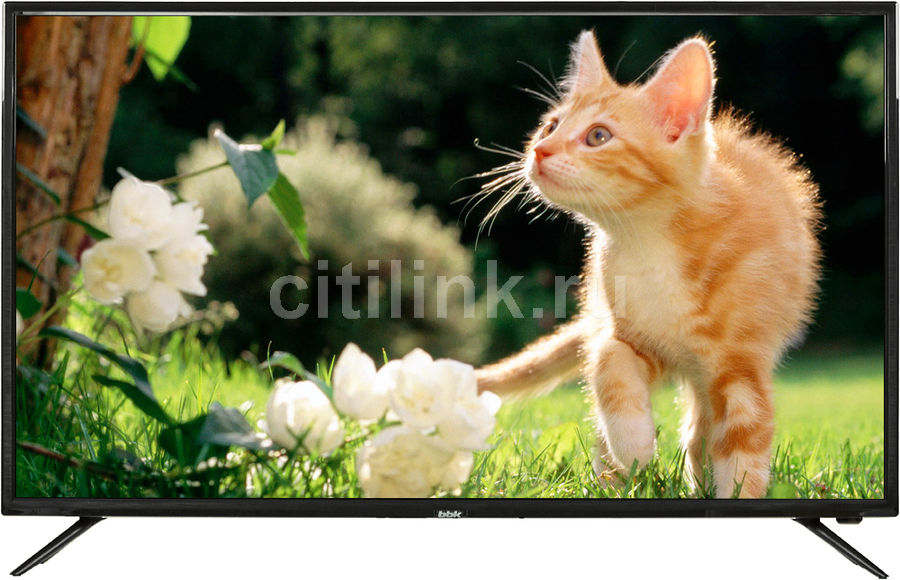 LED телевизор BBK 40LEX-5027/FT2C R, 40, FULL HD (1080p), черный