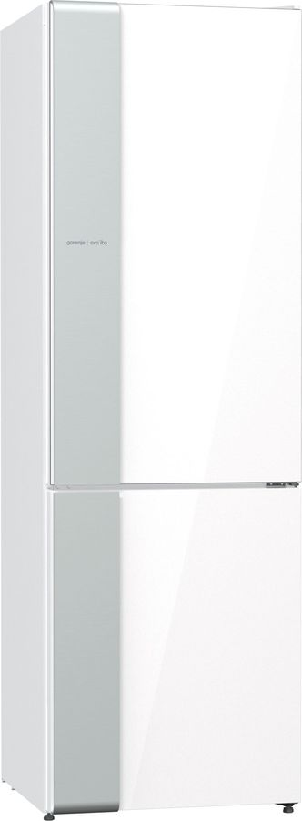 Холодильник GORENJE NRK612ORAW,  двухкамерный, белый/серебристый