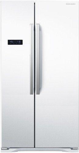 Холодильник SHIVAKI SBS-615DNFW,  двухкамерный,  белый