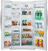 Холодильник SHIVAKI SBS-615DNFW,  двухкамерный,  белый вид 2